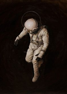 Astronauts worst fear floating off into space  New