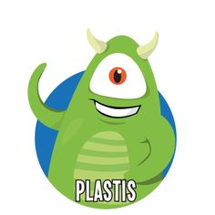Bild på Plastis i en rund cirkel