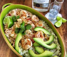 Kickin' Tequila Shrimp- Eat, Move, Shine