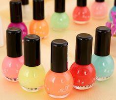 de bonbons de couleur lumineux de vernis à ongles de 12 couleurs de la lumière fluorescente mat lumière naill