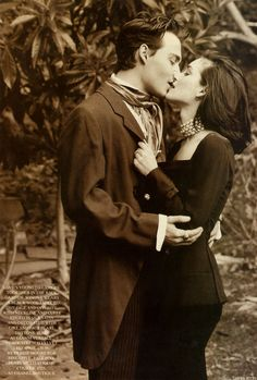 I keep wanting Johnny Depp and Winona Ryder to get back together, you know, just in case things don't work out with their current partners.