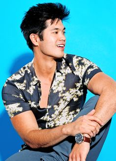 Ross Butler photographed by Ruben Chamorro for Cosmopolitan, 2017
