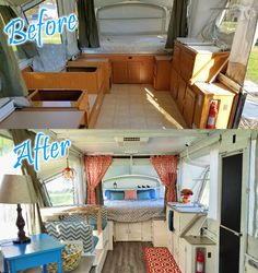 BEFORE/AFTER - This is my Pop up renovation on a 2003 Coleman Bayside Elite…