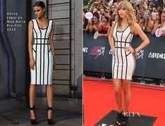 Taylor Swift In Hervé Léger by Max Azria – 2013 MuchMusic Video Awards
