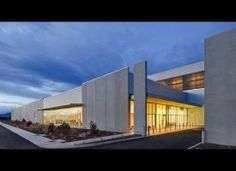 Exterior of the Prineville data center.
