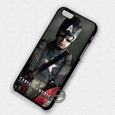 Movie Chara Captain America Avengers - iPhone 7 6S  5C SE Cases & Covers