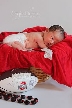 A Little Ohio State Buckeyes fan that I photographed today.