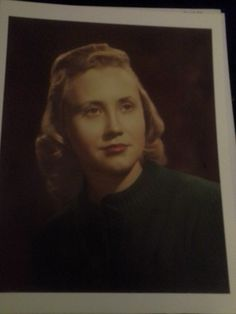 To those who knew her--- In loving memory of Ann Mary Stenberg---My dearly departed Mother.