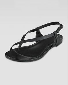 Cole Haan - Inwood Flat Thong Sandal, Black