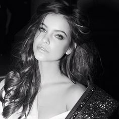 """I spy a stunning angel named Barbara Palvin ... @realbarbarapalvin #vsfashionshow"" - photo by Russell James @NomadRJ"
