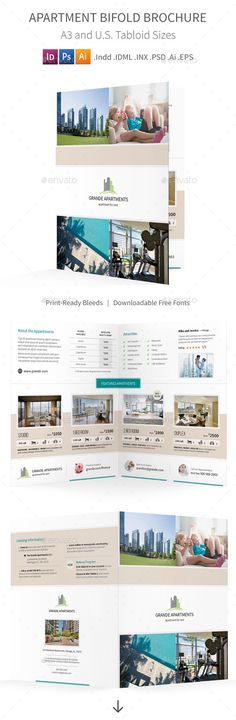 Toolbox - Bifold Brochure Brochures, Indesign templates and - half fold brochure template