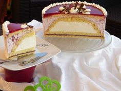 Торт «Восход солнца» : Торты, пирожные Elegant Desserts, Fancy Desserts, Delicious Desserts, Yummy Food, Mousse Dessert, Mousse Cake, Sweet Recipes, Cake Recipes, Dessert Recipes