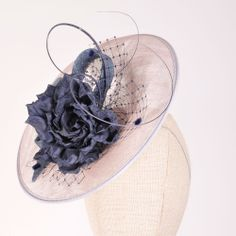 Garden Party Bow Silver | Atelier Millinery