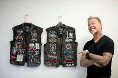 James Hetfield battle jackets