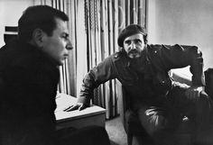 Fidel Castro entrevistado por Jean Daniel, Havana, Cuba, novembro 1963