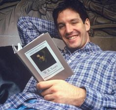 """The NHL's Discipline Czar (Brendan Shanahan) catching up on some light reading (W.B. Yeats' The Last Romantic)."" ... I don't believe that Shanny actually reads yeats. Correction: I *won't* believe it."