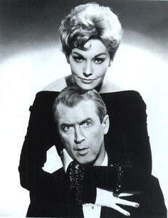 We Had Faces Then : Photo, Jimmy Stewart and Kim Novak
