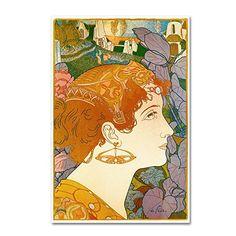 Trademark Fine Art Vintage Lavoie 'Georges De Feure' Canvas Art