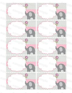 Blank insert for baby shower invitation thank you notes diaper raffle elephant baby shower girl baby Baby Shower Invites For Girl, Baby Shower Favors, Baby Shower Parties, Baby Shower Themes, Baby Boy Shower, Baby Shower Invitations, Baby Shower Gifts, Shower Ideas, Baby Favors