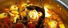 i♥Tasty  |  .. #Pizza #soup (recipe)