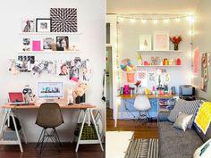 50 ideias de decoração de home office