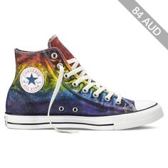 Converse Chuck Taylor All Star Pride – red/yellow/purple Sneakers