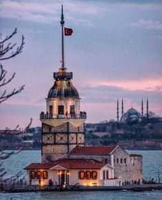 Maiden's Tower – Oğuz Topoğlu – Join the world of pin Istanbul City, Istanbul Travel, Most Beautiful Cities, Wonderful Places, Places To Travel, Places To Visit, Turkey Places, Ariana Grande Drawings, Hagia Sophia