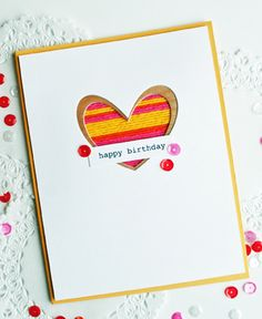 dear paperlicious: Just Dandy Studio: Texture on a Card