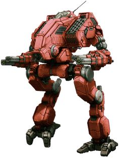 MWO Mad Dog (Vulture) template by Odanan