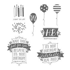 Balloon Bash Photopolymer Stamp Set by Stampin' Up!