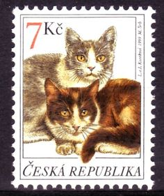 Postage stamp - Czech Republic - 1999