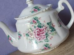 Vintage Price Kensington Teapot, English teapot, Pottery teapot, Ceramic teapot…