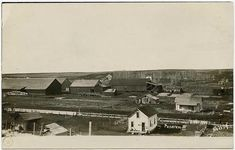 GRASS VALLEY, OREGON THREE CARD PANORAMA B. B BAKOWSKI RPPC | #1840151595