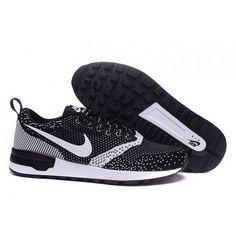Mens Nike Air Odyssey Black White Shoes