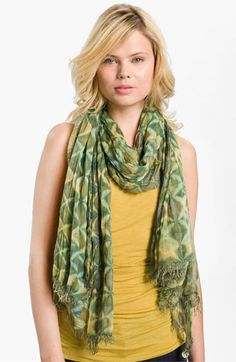 Brightly Twisted Snake Print Scarf available at #Nordstrom? Scarf obsessed