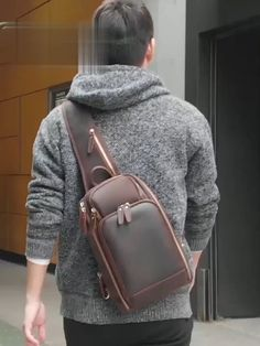 Small Leather Bag, Leather Men, Leather Bags For Men, Crossbody Shoulder Bag, Crossbody Bag, Leather Shoulder Bag, Ipad Bag, Diy Bags Purses, Leather Bags Handmade