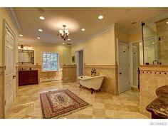 Bathroom of luxury home in Goochland, Virginia