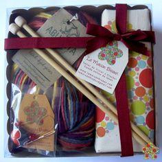 Kit de iniciación al tricot