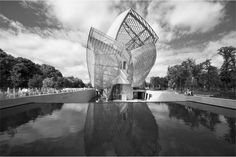 Fondation Louis Vuitton. Inauguration octobre 2013. #FondationLV #Gehry  ♥ by #GalerieW 2014