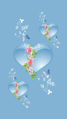 Blue hearts light wallpaper by Ninoscha - aa - Free on ZEDGE™ Beautiful Wallpaper For Phone, Blue Wallpaper Iphone, Beautiful Flowers Wallpapers, Lit Wallpaper, Purple Wallpaper, Heart Wallpaper, Blue Wallpapers, Pretty Wallpapers, Colorful Wallpaper