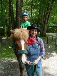 Maplewood Farm; over 200 domestic and friendly farm animals, picnic areas, pedal tractor and more on 5 acres. Feed the animals, ride a pony, even get an autograph from an animal. http://maplewoodfarm.bc.ca/