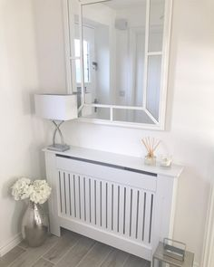 Radiator Cover Small – White Vertical Style Radiator Cover Small – White Vertical Style,Heizkörperverkleidung Related Simple DIY Summer Decoration with Perfect Design - Foyer decoratingketo diet for beginners - -. White Hallway, Home Interior Design, Interior Design Bedroom, House Interior, Home Radiators, House Rooms, Home, Hall Decor, Home Decor