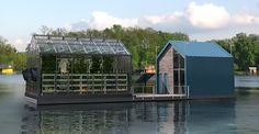 Floating urban greenhouse would produce clean energy and organic food