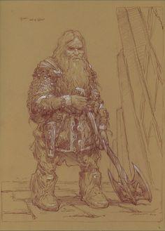 Donato Giancola - Gimli, Son of Gloin