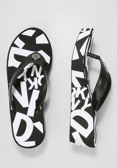 059613303dc DKNY JOSIE - T-bar sandals - black - Zalando.co.uk