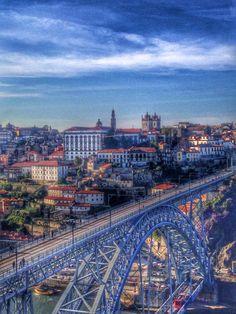 Ponte D.Luiz, Porto-Portugal foto de Helena Sampaio
