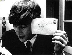 "'THE BEATLES ANTHOLOGY' Book 1964 JOHN: ""Merci Beaucoup!"""
