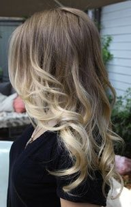 I love this hair color..decisions decisions keep it natural at top and lighter on bottom.