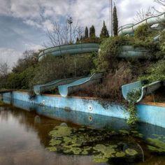 Fotógrafo registra em livro imagens de lugares abandonados