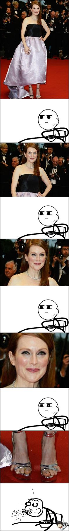 omggg... @Sarah Tapani Julianne Moore has your freak toes!!!